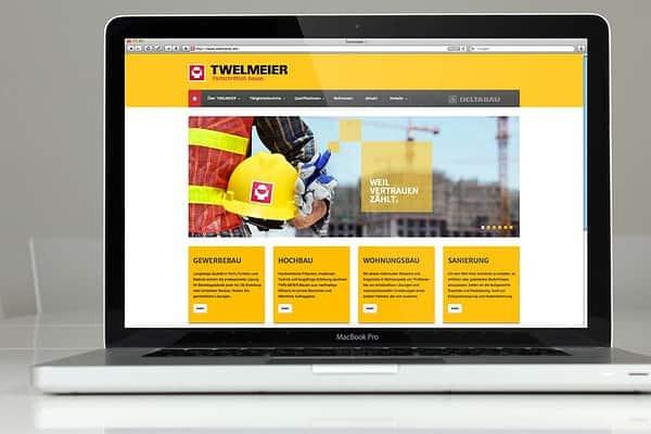 TWELMEIER Responsive Website