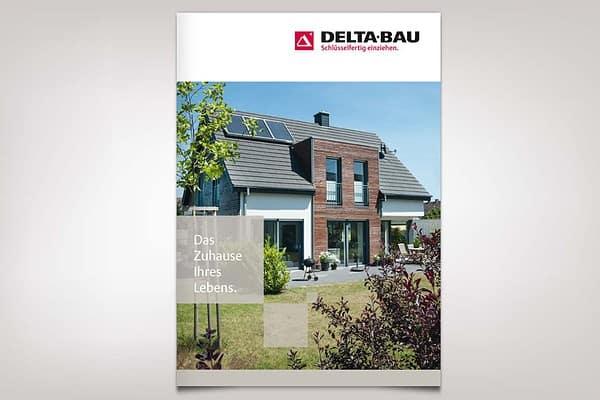 DELTA BAU Imagebroschüre