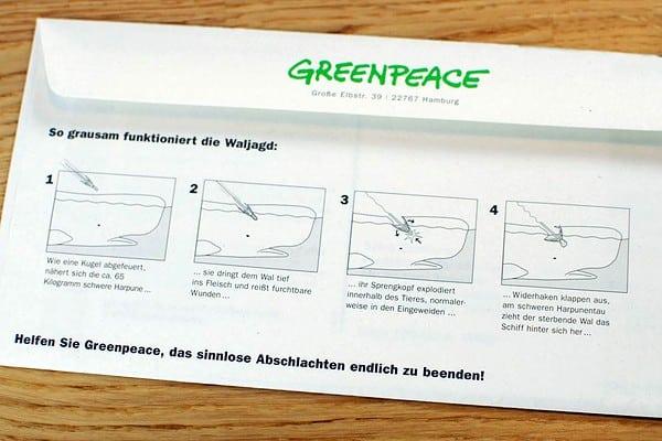 GREENPEACE Mailing