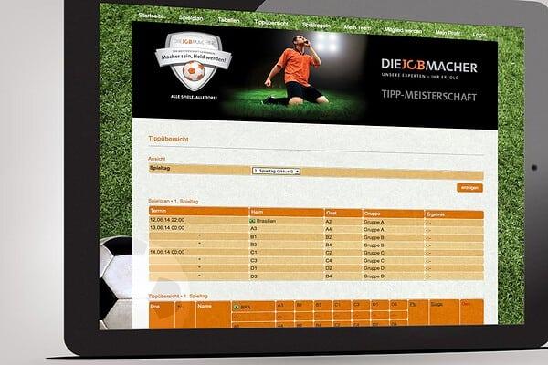 DIE JOBMACHER Online Gewinnspiel