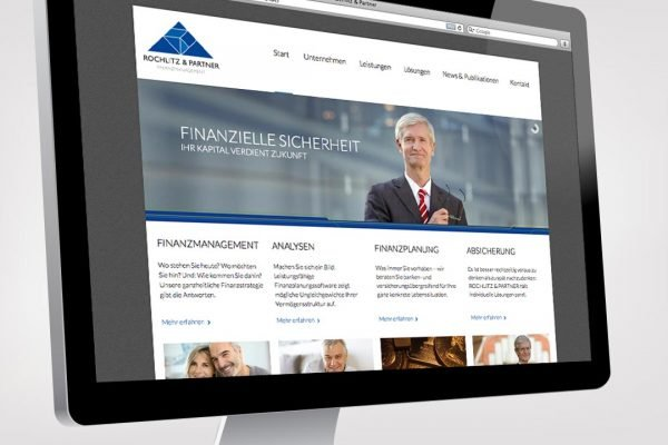 Rochlitz Finanzdienstleistungen Website